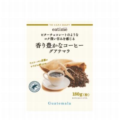eatime ビターチョコレートのようなコク深い甘みを感じる香り豊かなコーヒーグアテマラ