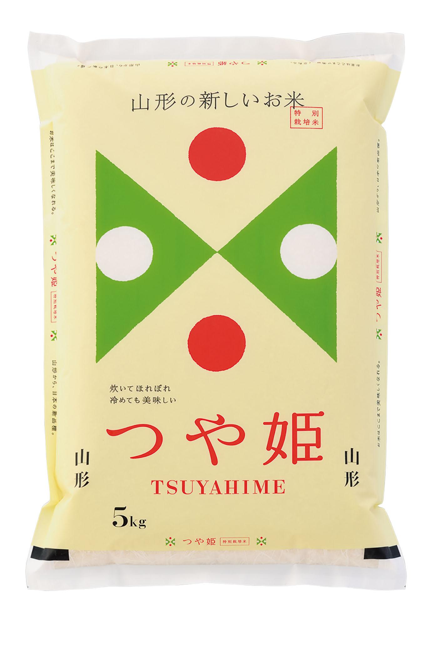 吉兆楽 山形県産つや姫 特別栽培米 5kg
